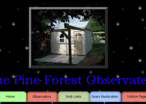 Pine Forest Observatory